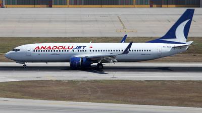TC-SAK - Boeing 737-8AS - AnadoluJet