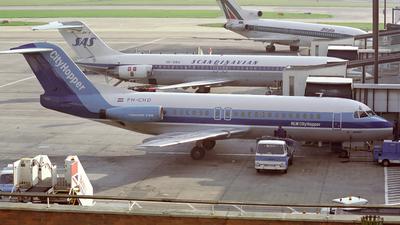 PH-CHD - Fokker F28-4000 Fellowship - NLM Cityhoppper
