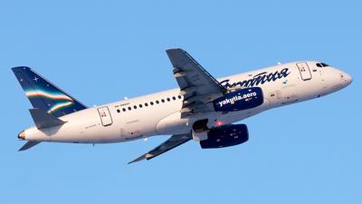 A picture of RA89037 - Sukhoi Superjet 10095LR - Yakutia Airlines - © Arkady Perevoznikov