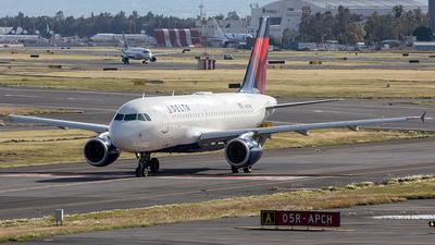 A picture of N357NB - Airbus A319114 - Delta Air Lines - © Edmundo Iturralde