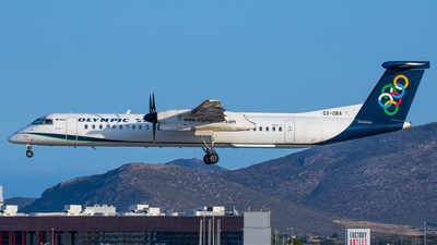 SX-OBA - Bombardier Dash 8-Q402 - Olympic Air