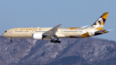 A6-BLW - Boeing 787-9 Dreamliner - Etihad Airways