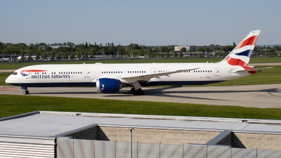 A picture of GZBLB - Boeing 78710 Dreamliner - British Airways - © Ethan Sewell