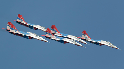 29 - Mikoyan-Gurevich MiG-29SMT Fulcrum C - Russia - Air Force