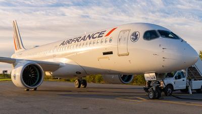 F-HZUA - Airbus A220-371 - Air France
