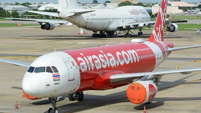 HS-ABZ - Airbus A320-216 - Thai AirAsia