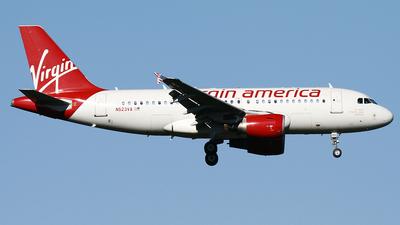 N523VA - Airbus A319-112 - Virgin America
