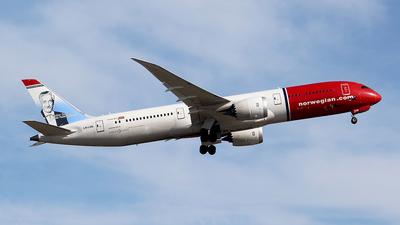 LN-LNK - Boeing 787-9 Dreamliner - Norwegian