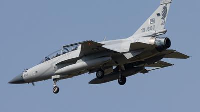 19-607 - Chengdu JF-17B Thunder - Pakistan - Air Force