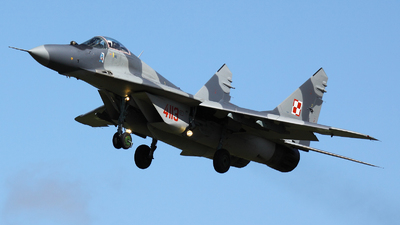4113 - Mikoyan-Gurevich MiG-29G Fulcrum - Poland - Air Force