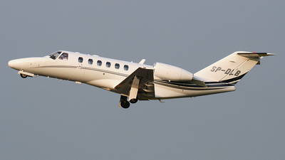 SP-DLB - Cessna 525A CitationJet 2 Plus - Blue Jet