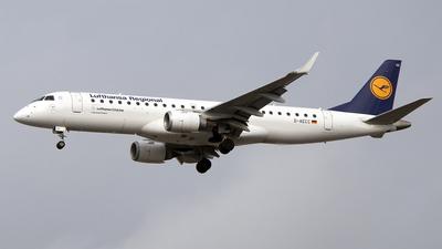 A picture of DAECC - Embraer E190LR - Lufthansa - © Paul Spijkers