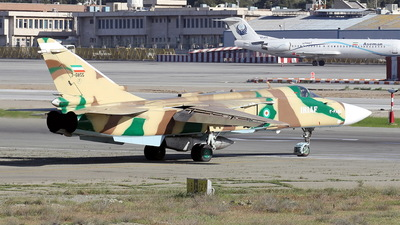 3-6855 - Sukhoi Su-24M Fencer - Iran - Air Force