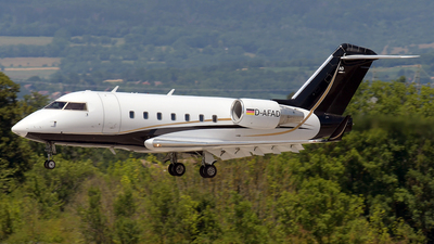 A picture of DAFAD - Bombardier Challenger 604 -  - © Paul Denton