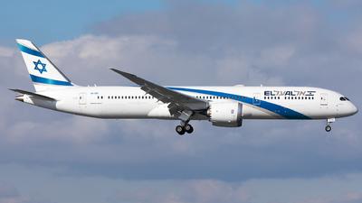 4X-EDI - Boeing 787-9 Dreamliner - El Al Israel Airlines