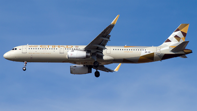 A6-AEI - Airbus A321-231 - Etihad Airways