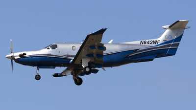 A picture of N842WF - Pilatus PC12/47 - Boutique Air - © Stefan Alexandru