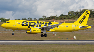 A picture of N604NK - Airbus A320232 - Spirit Airlines - © Alex Rivera
