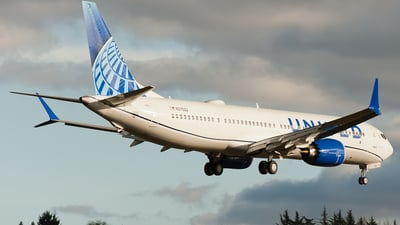 N37522 - Boeing 737-9 MAX - United Airlines