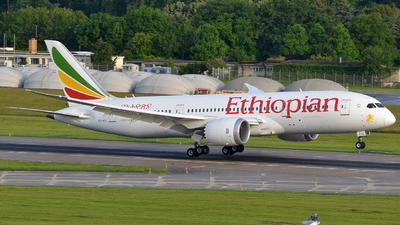 ET-ATL - Boeing 787-8 Dreamliner - Ethiopian Airlines