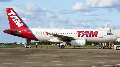 PR-MBU - Airbus A319-132 - TAM Linhas Aéreas