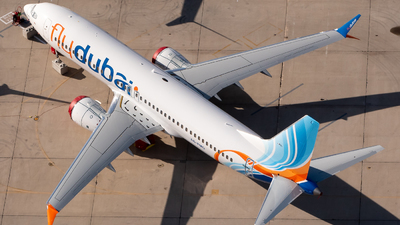 A picture of A6FMO - Boeing 737 MAX 8 - FlyDubai - © Ben Suskind