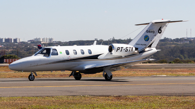 A picture of PTSTK - Cessna 525 CitationJet CJ1 - [5250300] - © LazaroEdu