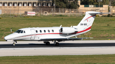 9H-WII - Cessna 650 Citation VII - Private