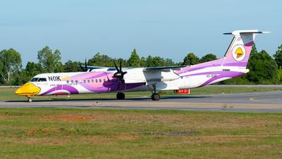 A picture of HSDQB - De Havilland Canada Dash 8400 - Nok Air - © Amarase Pamarapa