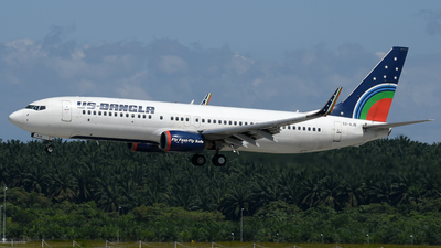 S2-AJB - Boeing 737-8Q8 - US-Bangla Airlines