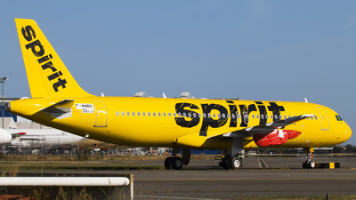 F-WWBC - Airbus A320-271N - Spirit Airlines