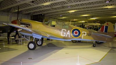 FX760 - Curtiss P-40N Kittyhawk - United Kingdom - Royal Air Force (RAF)