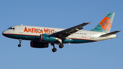 N804AW - Airbus A319-132 - America West Airlines