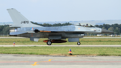 J-870 - General Dynamics F-16AM Fighting Falcon - Netherlands - Royal Air Force