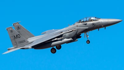 05-0025 - Boeing F-15SG Strike Eagle - Singapore - Air Force