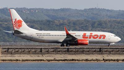 PK-LOJ - Boeing 737-8GP - Lion Air