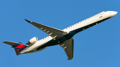 A picture of N293PQ - Mitsubishi CRJ900LR - Delta Air Lines - © Tracey Green