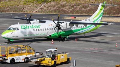 A picture of ECKYI - ATR 72500 - Binter Canarias - © Thomas A. Ferreira