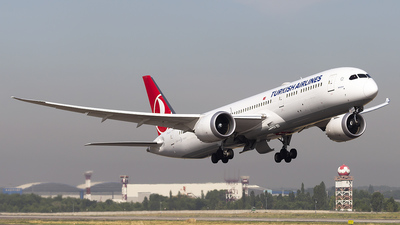 TC-LLI - Boeing 787-9 Dreamliner - Turkish Airlines