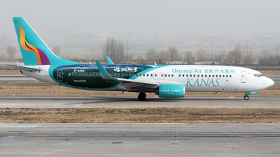 A picture of B6268 - Boeing 7378LP - Urumqi Airlines - © zhangmx969