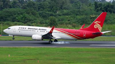 B-1710 - Boeing 737-87L - Shenzhen Airlines