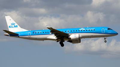 A picture of PHEZY - Embraer E190STD - KLM - © Donato Bolelli