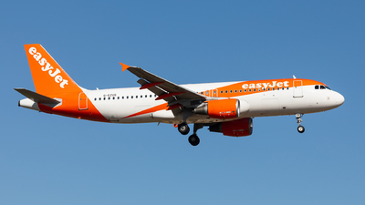 A picture of GEZUS - Airbus A320214 - easyJet - © Carlos Miguel Seabra