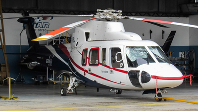 A picture of PPMBJ - Sikorsky S76A - [760142] - © Alison Rodrigues - SBPV