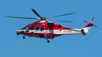 VF-149 - Agusta-Westland AW-139 - Italy - Vigili del Fuoco