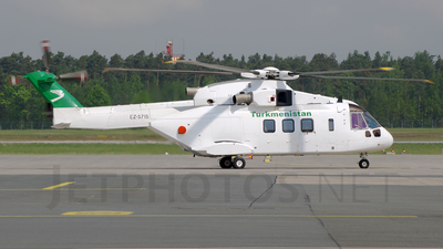 EZ-S715 - Agusta-Westland AW-101 - Turkmenistan - Government