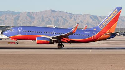 A picture of N7703A - Boeing 73776N - [32653] - © Felipe Garcia