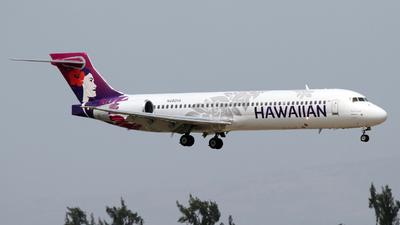 N492HA - Boeing 717-2BL - Hawaiian Airlines