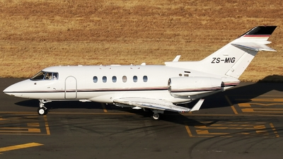 ZS-MIG - Raytheon Hawker 900XP - Private