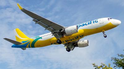 A picture of RPC4100 - Airbus A320214 - Cebu Pacific - © Patrick Lodimaster Dariagan - Philippine Aviators